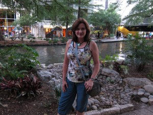 Kathy on the River Walk