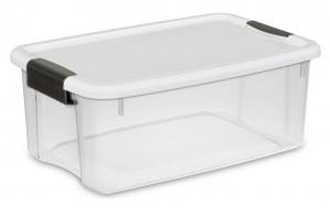 Clear Sterilite Storage Box