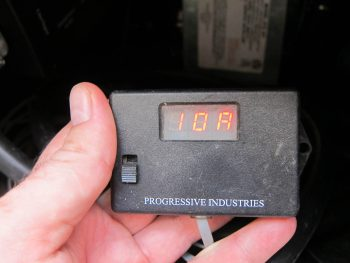 Amperage while using A/C