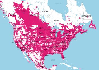 T-Mobile Data Coverage Map